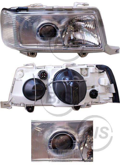 audi 80 b4 s2 rs2 cabrio de scheinwerfer hella rechts ebay. Black Bedroom Furniture Sets. Home Design Ideas